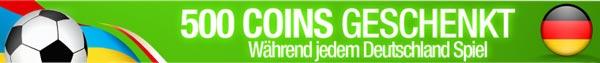 PrivateGig EM Special gratis 500 Coins